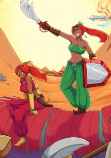 Zelda Alternate Destinies- Afrobull (Gerudo) porn comics 8 muses