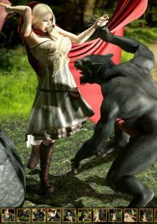 Zuleyka- Red Riding Hood image 3